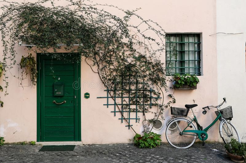 House in Roma royalty free stock images