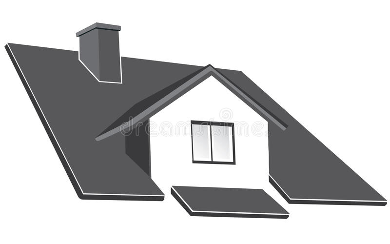 Download House ruff stock vector. Image of border, build, icon - 11849114