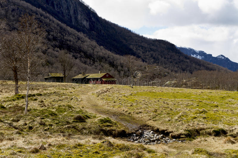 Download House In Rural Landscape Royalty Free Stock Image - Image: 24706286