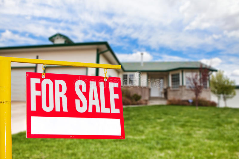 House sale stock image