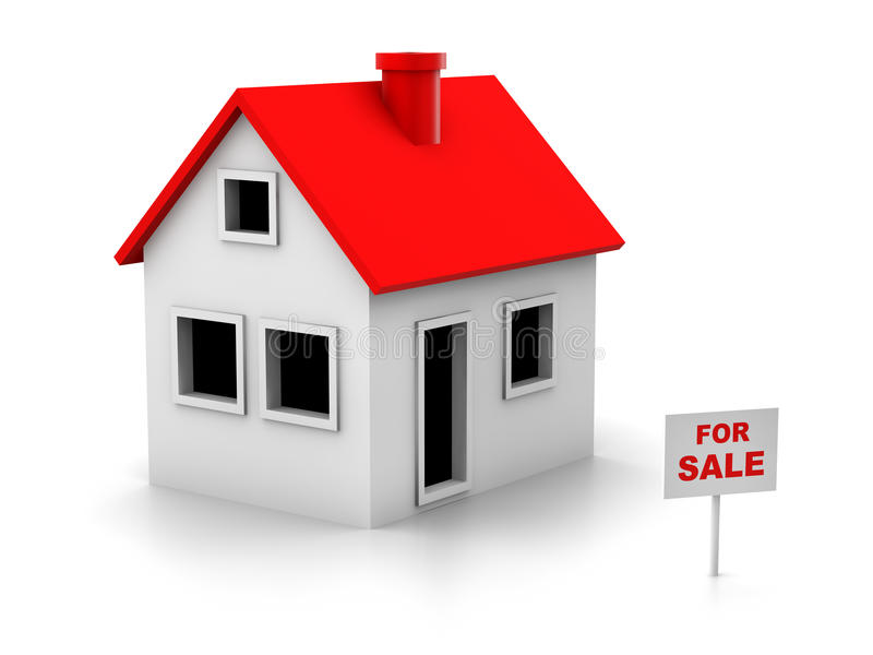Download House sale stock illustration. Image of real, residence - 21053792