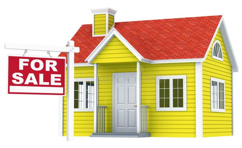 Download House for Sale. stock illustration. Image of finance - 21951318