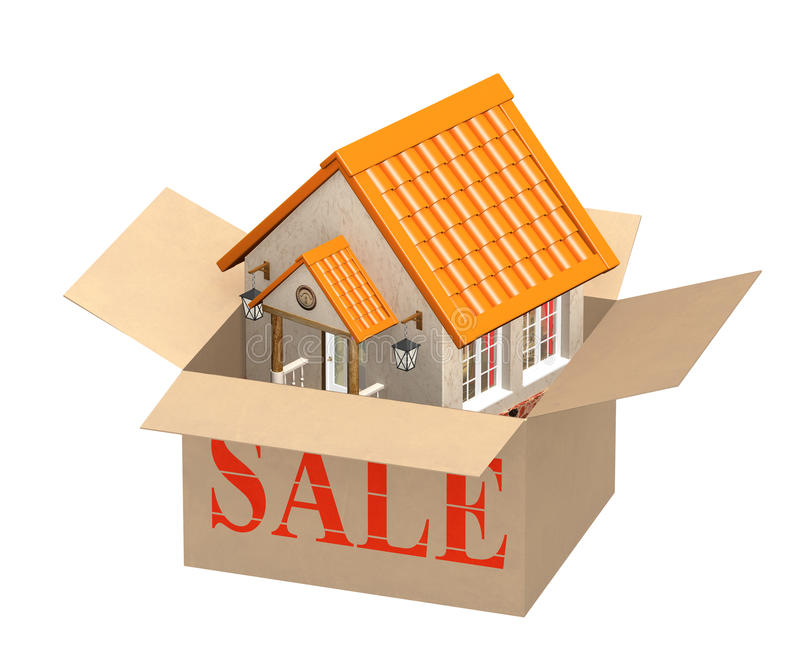Download House For Sale Stock Photography - Image: 25910912