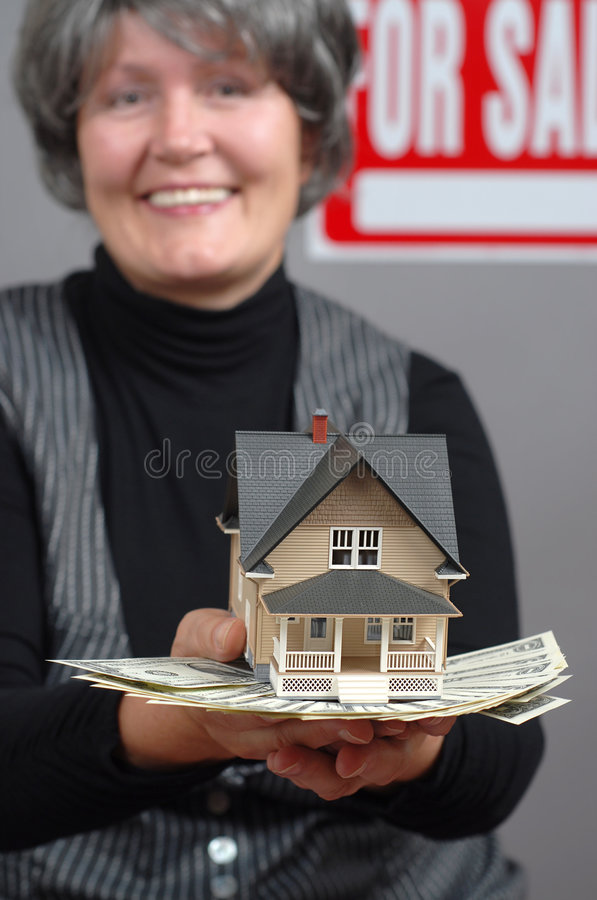 Download House sale stock image. Image of happiness, customer, hands - 4529851