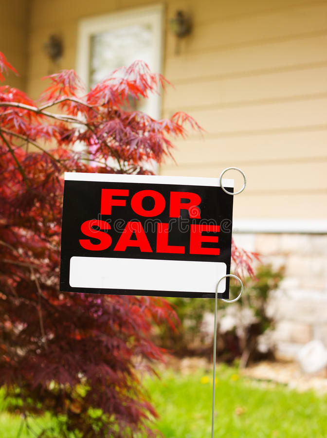 Download House for Sale stock image. Image of owner, downsizing - 30952329