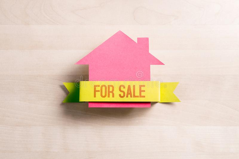 House for sale. Real estate business concept. royalty free stock photos