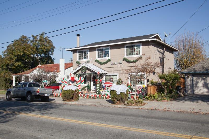 House in Santa Clara,California royalty free stock photos