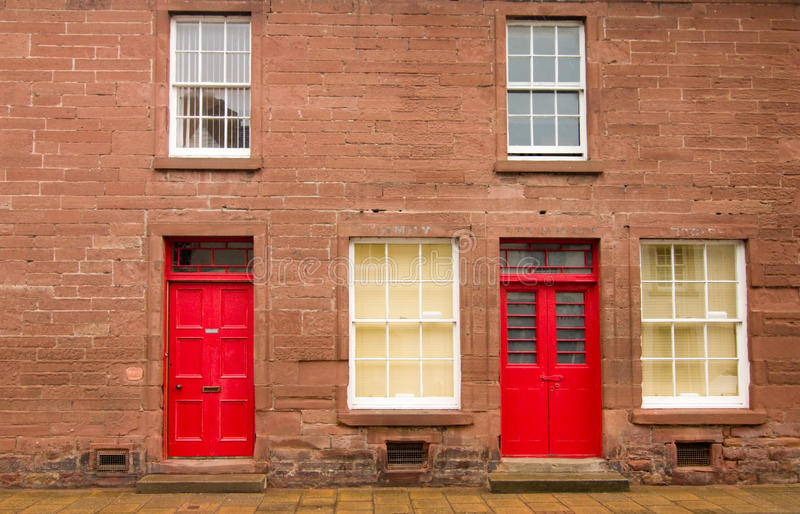 House in Scotland stock images