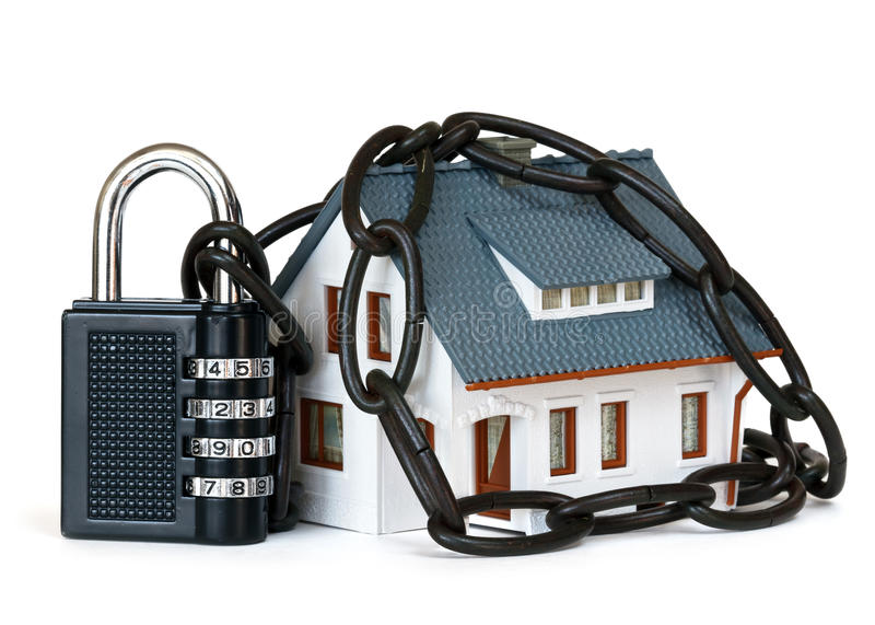 House security royalty free stock image