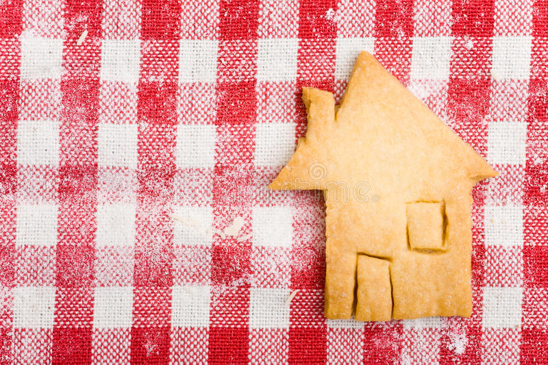Download House Shaped Christmas Cookie Stock Photography - Image: 19645942