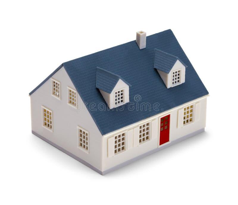 House Side y frente modelo stock de ilustración