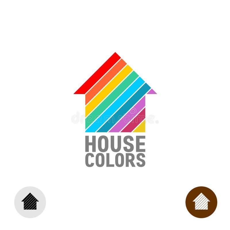 House paint logo stock illustration