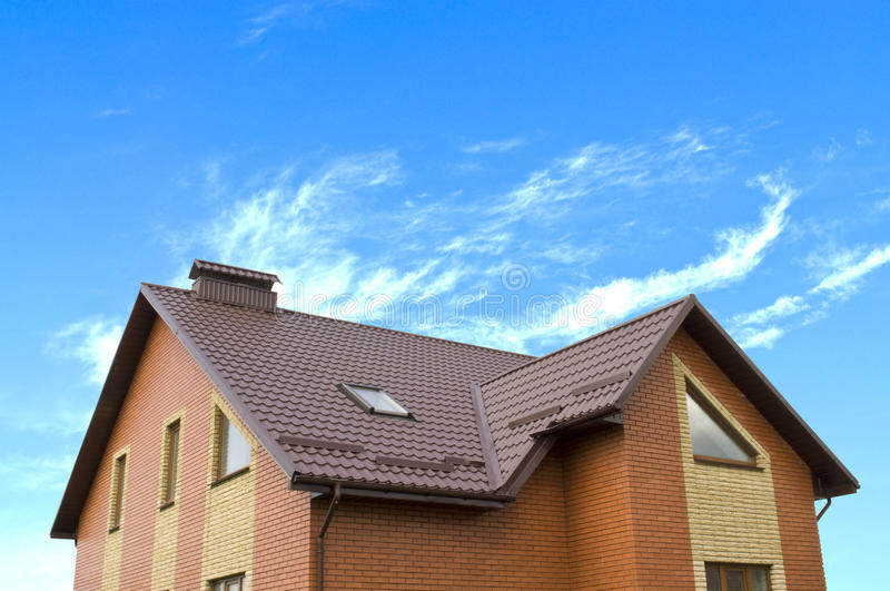 House And Sky Stock Image