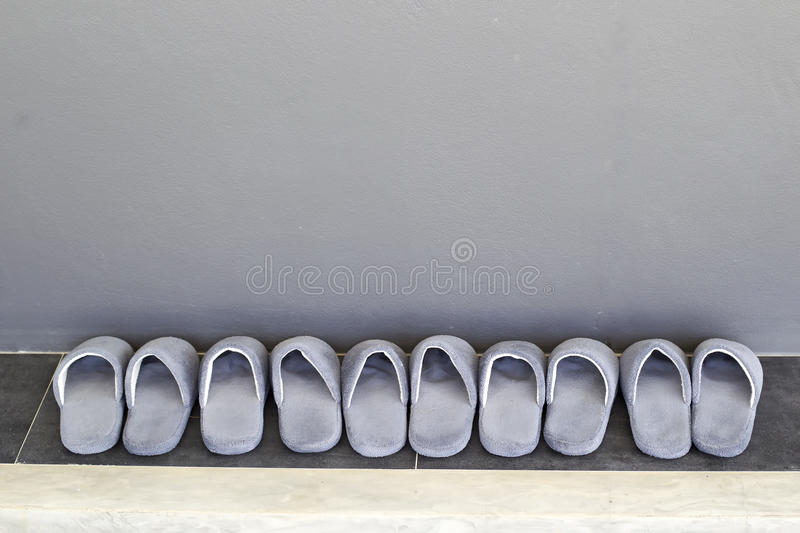 House slippers stock image