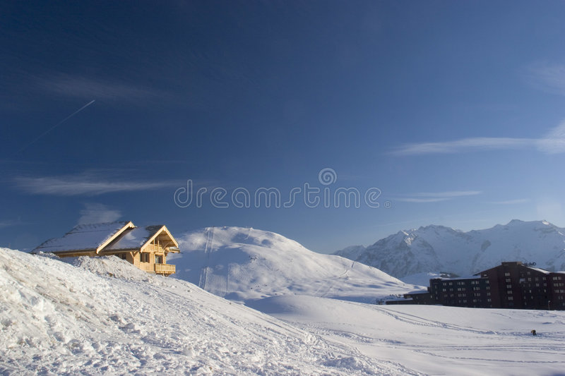 Download House on snow stock image. Image of travel, house, wooden - 84145