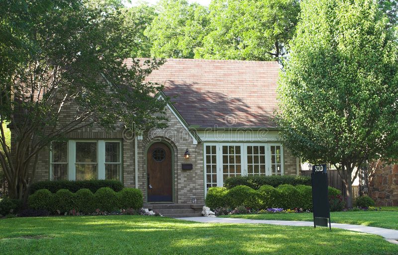 House Sold stock photos