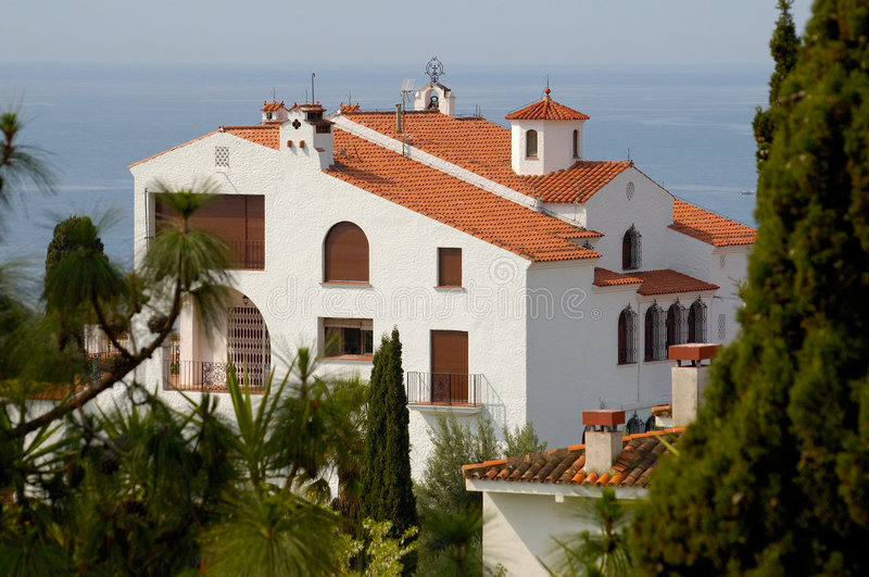 House in Spain royalty free stock photography