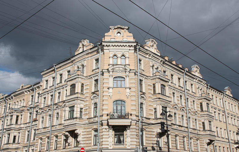 Download The House In St. Petersburg. Stock Image - Image: 24873673