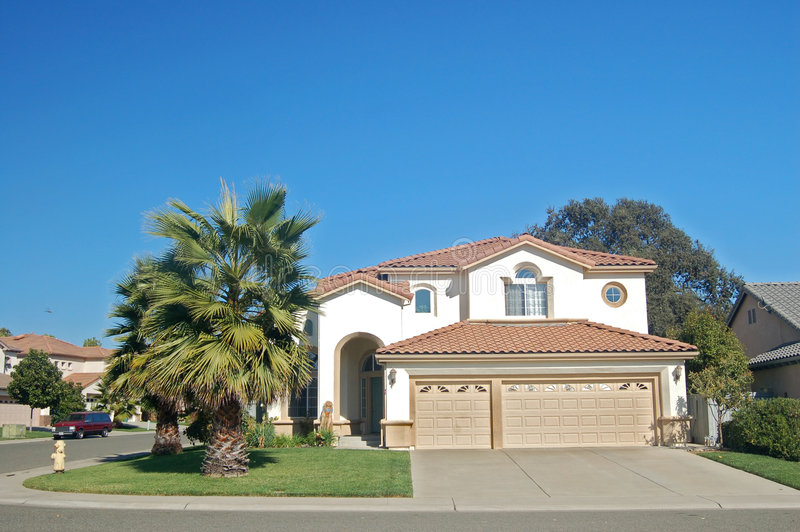 Download House In The Suburbs Stock Photo - Image: 501860