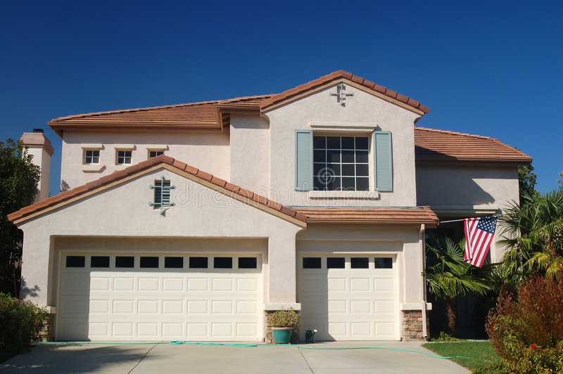 House in the Suburbs royalty free stock image