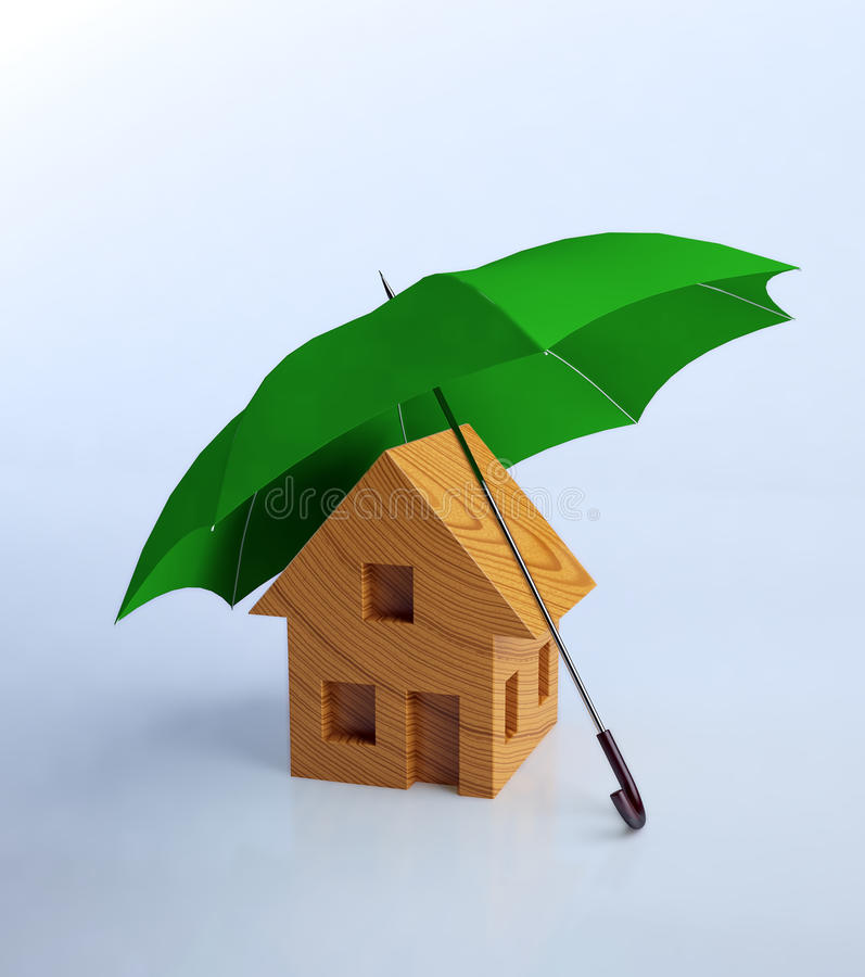 House symbol stock illustration