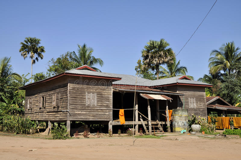 House Temple Retro Country Thailand royalty free stock photo