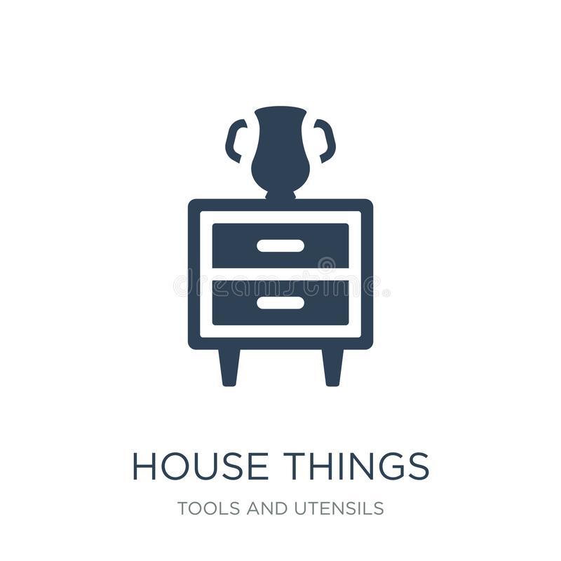 house things icon in trendy design style. house things icon isolated on white background. house things vector icon simple and royalty free illustration