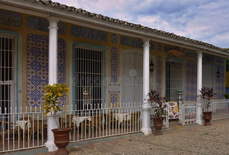 House in Trinidad. royalty free stock photos