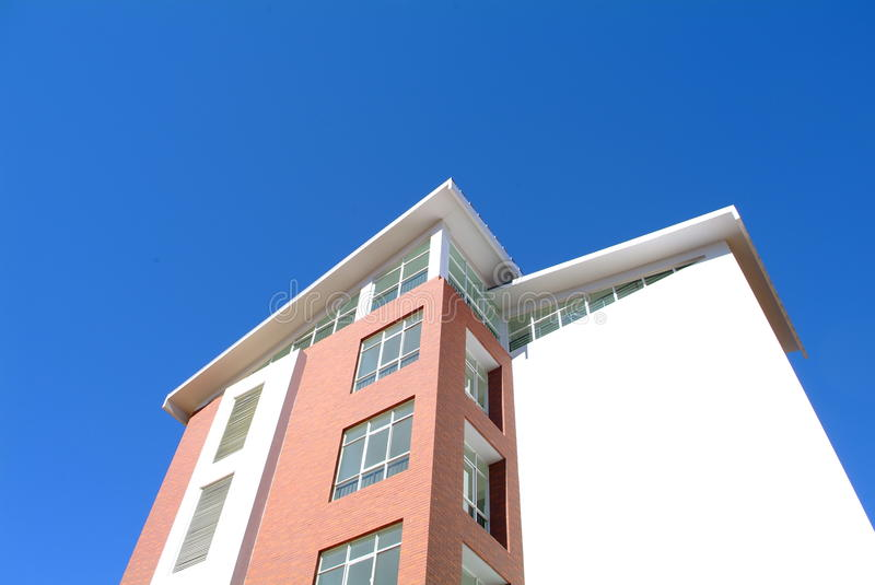 Download House under blue sky stock image. Image of buildings - 29027005