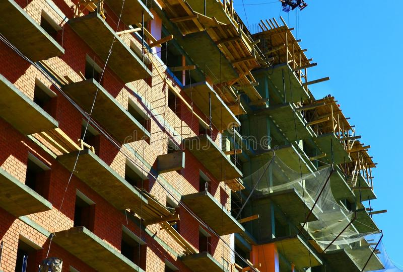 Download House under construction stock image. Image of structure - 15948557