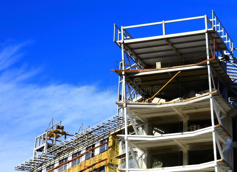 House Under Construction Royalty Free Stock Photography