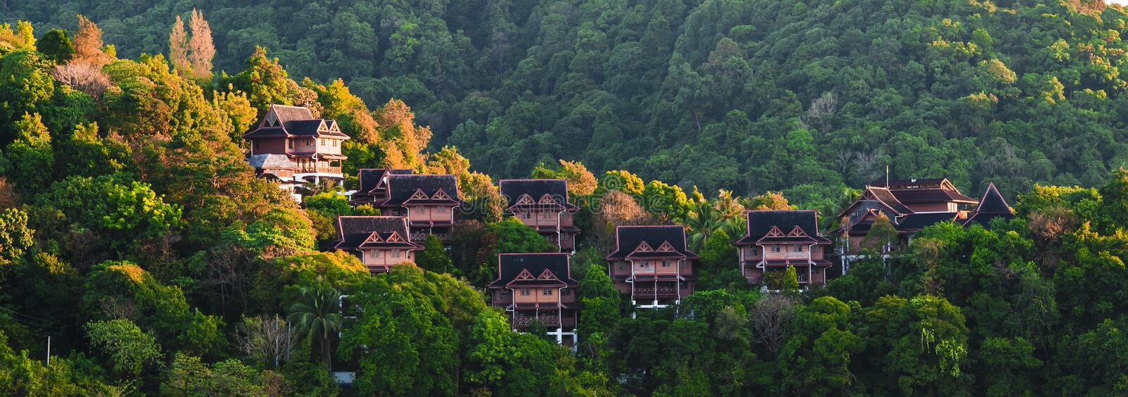 Download Houses in Langkawi stock image. Image of night, architecture - 30099035