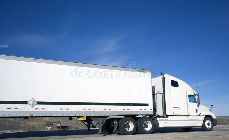 House under Truck royalty free stock photo