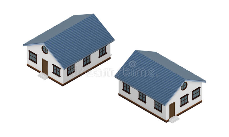 house vector image isometric view stock vector