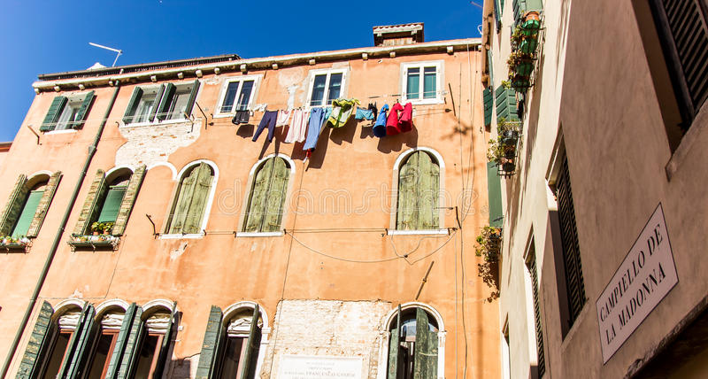 House in Venice, Italy royalty free stock photo