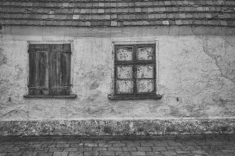 HOUSE. A very old abandoned building royalty free stock photo
