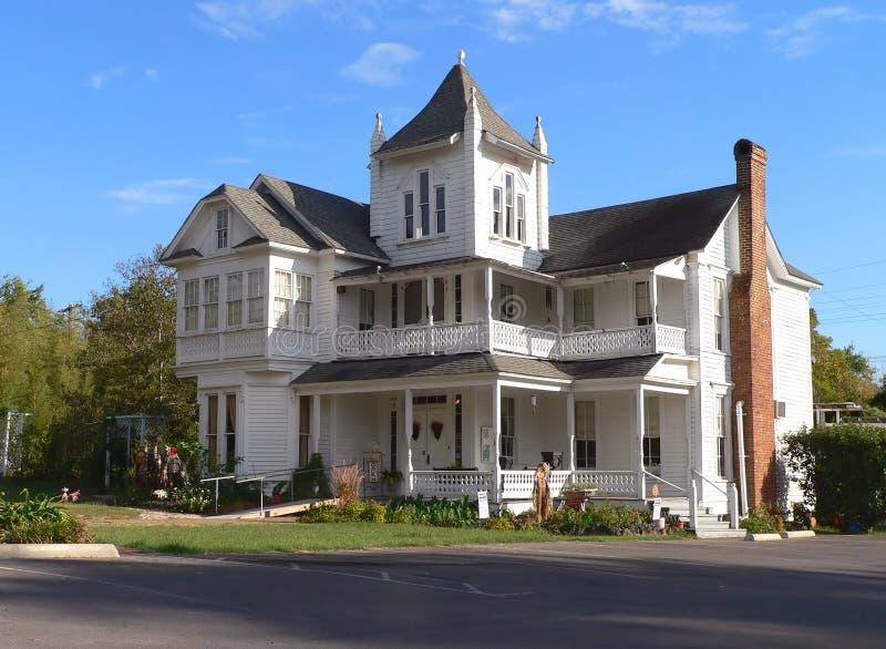 house victorianen royaltyfri bild