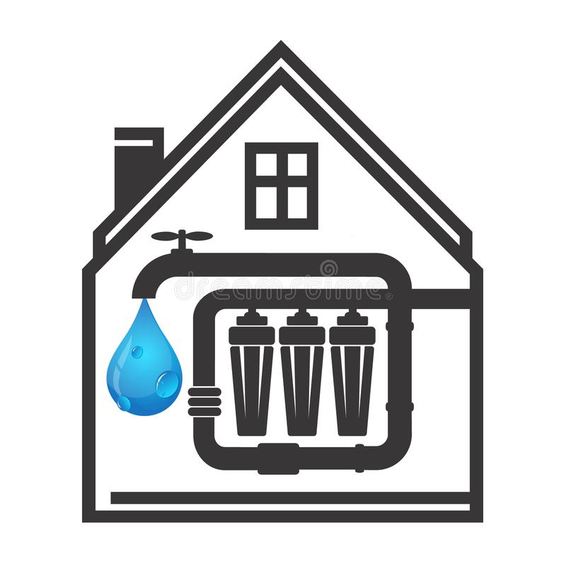 Free House Water Filtration Royalty Free Stock Image - 110117886