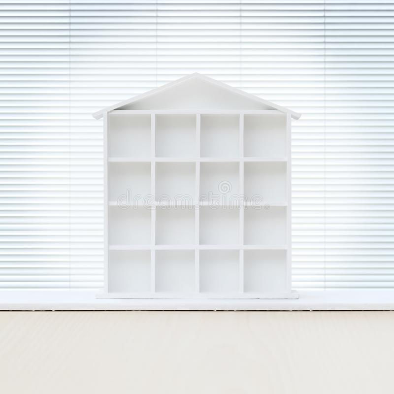 House white model on the table. House white model isolated on the table stock images