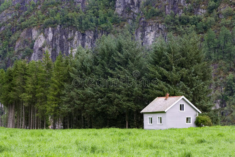 Download House in wilderness stock photo. Image of landscape, country - 23239722