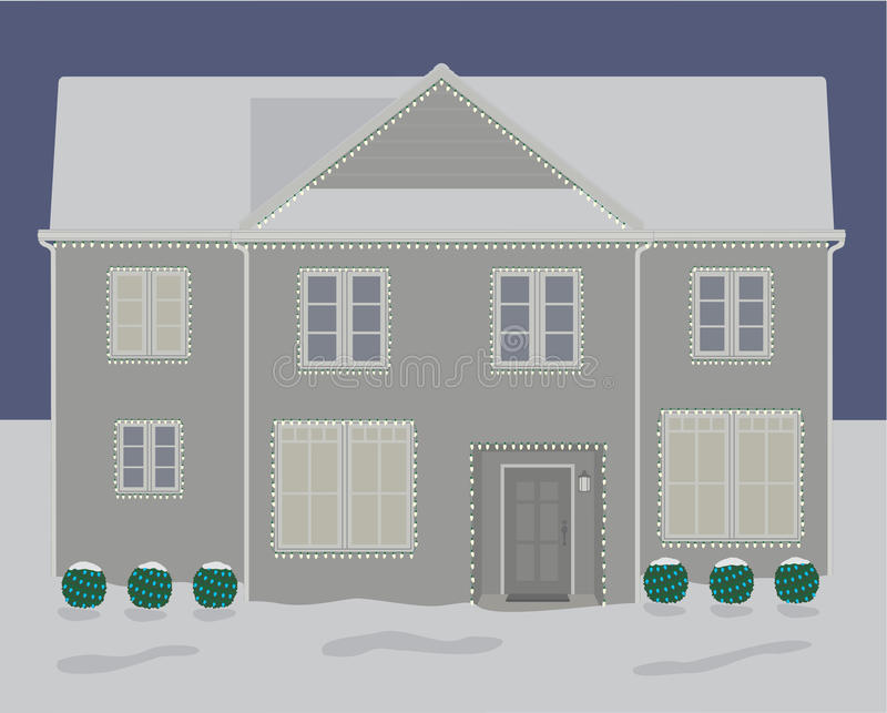 House With Christmas Lights Clipart.House Lights Stock Illustrations 6 502 House Lights Stock