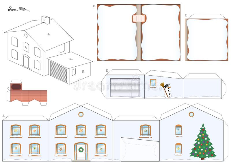 FREE 7+ Paper House Samples in PDF | PSD | 566x800