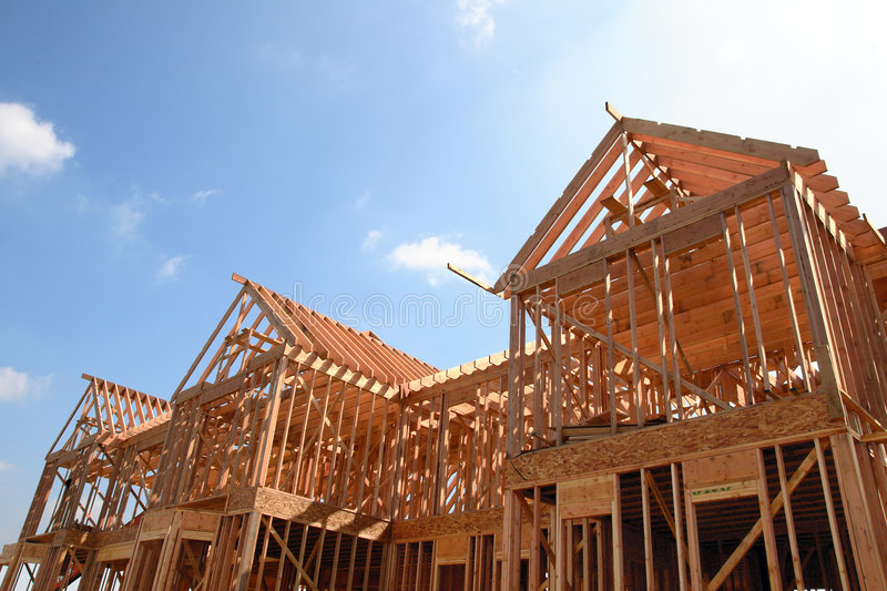 Download House Wooden Frame Stock Photo - Image: 2226950