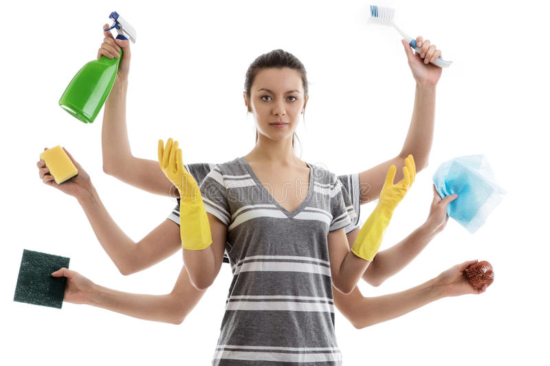 Superb Download House Work Stock Image. Image Of Cleaner, Cleaning, Lady   41038597