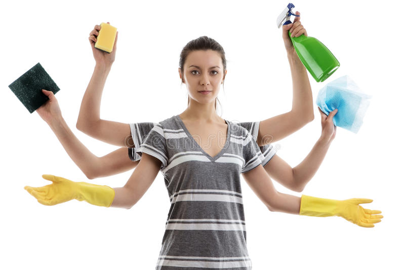 Wonderful Download House Work Stock Image. Image Of Lady, Arms, House, Background