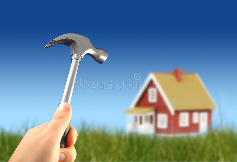 House Works Royalty Free Stock Photography