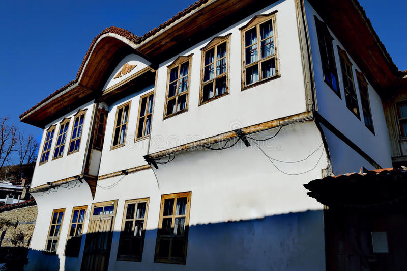 House in Zheravna royalty free stock images