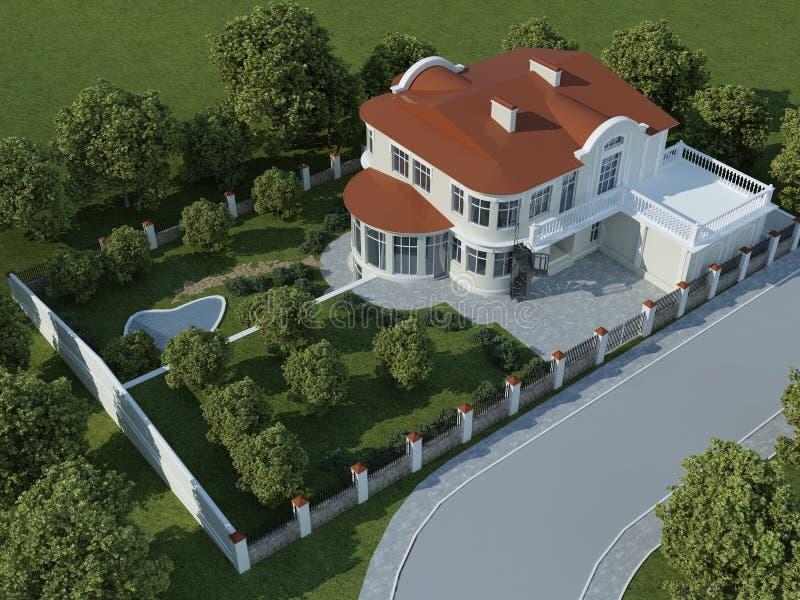 house1 vektor illustrationer