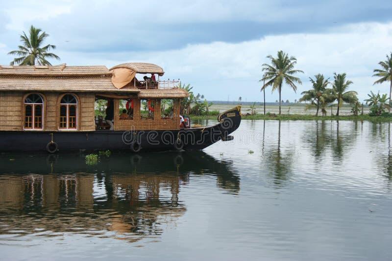 houseboat стоковое изображение