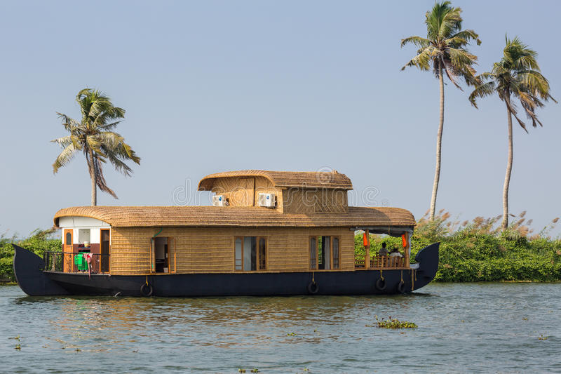 Houseboat obrazy royalty free